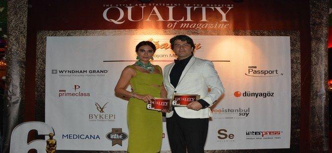 Geleneksel Quality Ödülleri Sahiplerini Buldu
