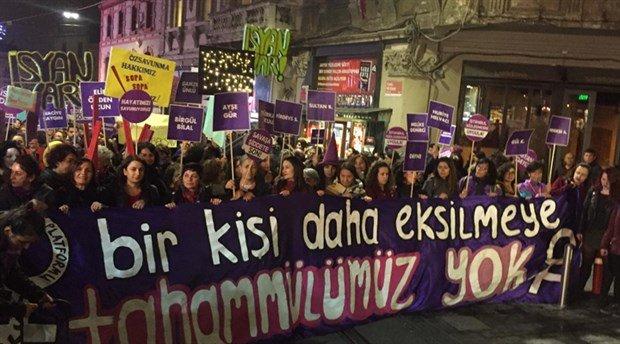 Şiddete Karşı Kadınlara Biber Gazlı Şiddet