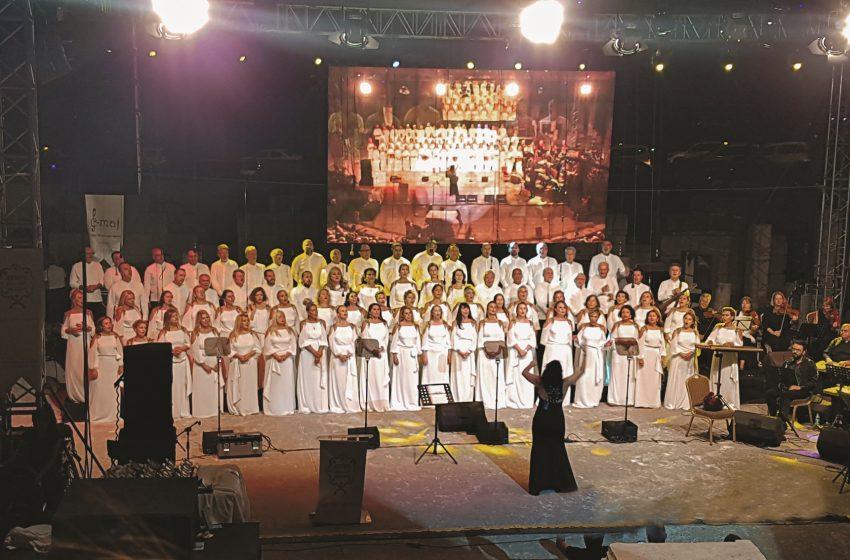 Bodrum'da İş'ten Sesler Korosundan Moral Konseri